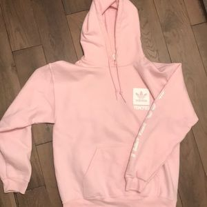 Other - Pink Adidas Hoodie size medium